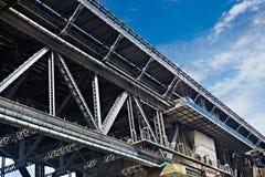 Bridge construction Royalty Free Stock Image