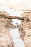 Bridge Construction at Play Royalty Free Stock Photography