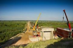 Bridge - Construction Site Royalty Free Stock Image