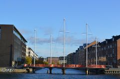 Bridge in Copenhagen Stock Image