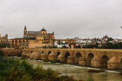 Bridge in Cordoba Royalty Free Stock Photo