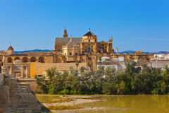 Bridge at Cordoba Spain Royalty Free Stock Photo