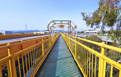 Bridge at Corinth Greece Royalty Free Stock Photo