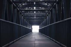 Bridge corridor. Royalty Free Stock Photo
