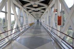 Bridge corridor Royalty Free Stock Photos