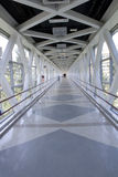 Bridge corridor Royalty Free Stock Images