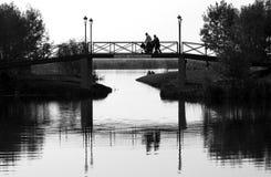 On the bridge Stock Photos