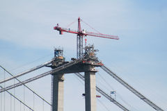 Bridge Crane 1 Royalty Free Stock Images