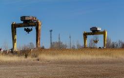Bridge crane Stock Photography