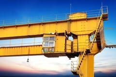 Bridge crane Royalty Free Stock Image