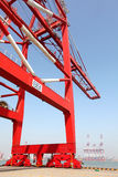 Bridge crane Stock Photos