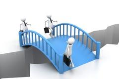 Bridge crisis Stock Photo