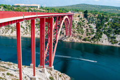 Bridge in Croatia Stock Photo