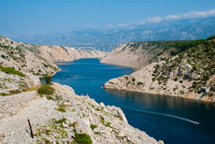 Bridge in Croatia Stock Photography