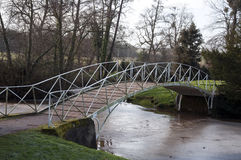 The bridge at Croome Park Stock Images