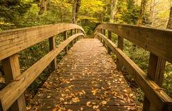 Bridge crossing stream Royalty Free Stock Photography