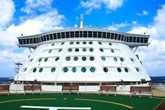 The bridge of cruise ship Stock Photo