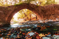 Bridge on Cyprus Royalty Free Stock Photography