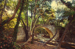 Bridge on Cyprus Royalty Free Stock Images