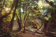 Bridge on Cyprus Royalty Free Stock Images