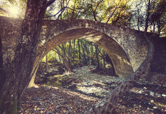 Bridge on Cyprus Stock Photo