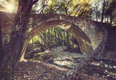 Bridge on Cyprus Stock Photo