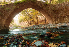 Bridge on Cyprus Royalty Free Stock Photo