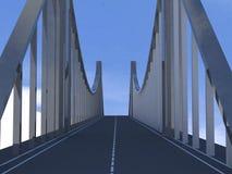 Bridge 3d model Stock Photo