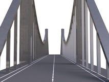 Bridge 3d model Stock Photography