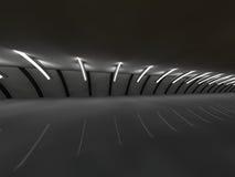 Bridge 3D rendering Royalty Free Stock Images