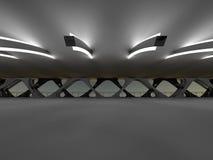 Bridge 3D rendering Royalty Free Stock Photo