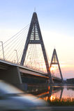 Bridge on Danube River 1 Royalty Free Stock Photos