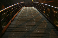 Bridge in the dark Royalty Free Stock Photo