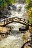 Bridge Datanla waterfall Royalty Free Stock Image