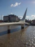 bridge de Λα mujer puente Στοκ Εικόνες