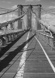 Bridge Deck B&W Stock Images