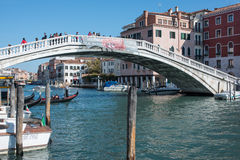 The bridge degli scalzi venice veneto italy europe Royalty Free Stock Images