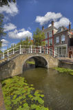 Bridge in Delft, Holland Stock Photo