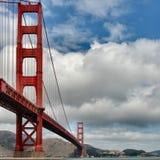 bridge den guld- porten arkivfoto