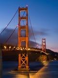 bridge den guld- porten Arkivfoton