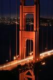 bridge den guld- porten Royaltyfria Foton