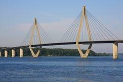Bridge in denmark Royalty Free Stock Image