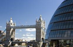 bridge det london tornet royaltyfri fotografi