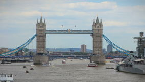 bridge det london tornet stock video
