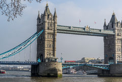 bridge det london tornet Fotografering för Bildbyråer