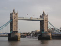 bridge det london tornet arkivbilder