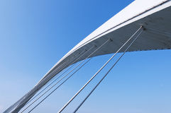 Bridge Detail. Architectural detail of the nanning Bridge in guangxi china royalty free stock photography