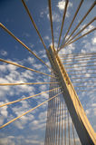 Bridge detail 26. Detail of the bridge millenium Royalty Free Stock Photography