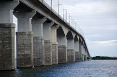 Bridge detail. Oland bridge, close up image Royalty Free Stock Photos