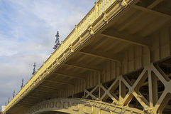 Bridge detail slant Royalty Free Stock Photos